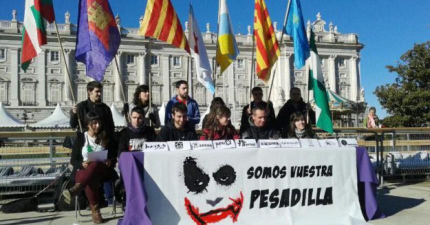 Arran se suma a un manifest internacional de joves contra la Constitució espanyola